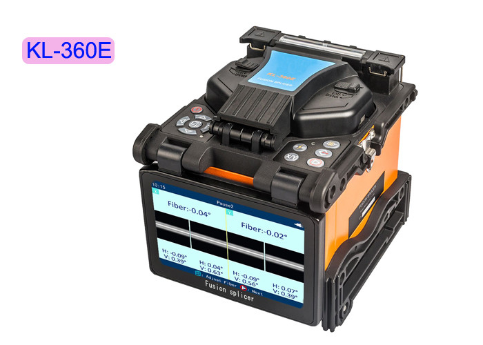 FTTH Handheld Fiber Optic Tools Splicer Electric Fusion Machine KL-630E Optical Power Meter