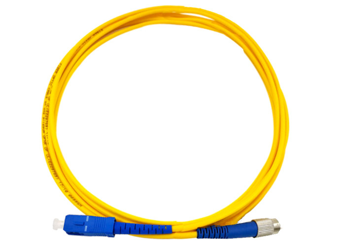 SX SM SC UPC FC UPC Fiber Optic Patch Cable SM 3M LENGTH LSZH 0.2DB G657 A2