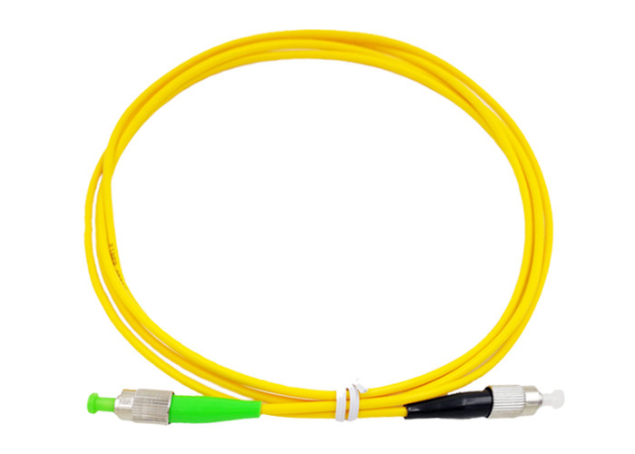 FC / APC FC / UPC FTTH Fiber Optical Patch Cord LSZH Sheath Low Insertion Loss